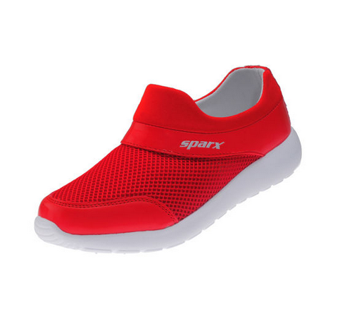 Sparx Red / White Ladies Sports Shoes