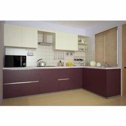 Modular Kitchen Commercial L Shaped Modular Kitchen Manufacturer