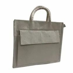 Jute Canvas Plain Bag