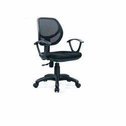 Black Net Computer Chair