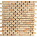 Capstona Stone Mosaics Mint Bricks Tiles