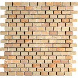 Capstona Stone Mosaics Mint Bricks Tiles