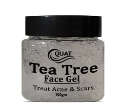 Herbal White Quat Tea Tree Face Gel, Packaging Size: 100gm