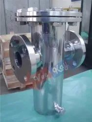 Stainless Steel Basket Strainers