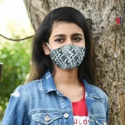 Reuseable 3 Layered Printed Face Mask