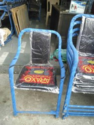 Black Iron Study Chair New, For Event