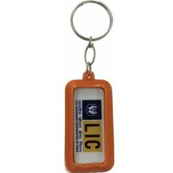Brown And Options Available Plastic Keychain, Usage/Application: Promotional Work
