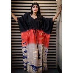 Cotton Shaded Dyed Kaftan