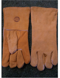Plain Leather Hand Gloves