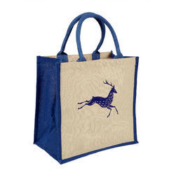 Body Print Jute Shopping Bags