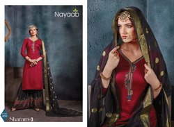 Party Wear Sharara Sui