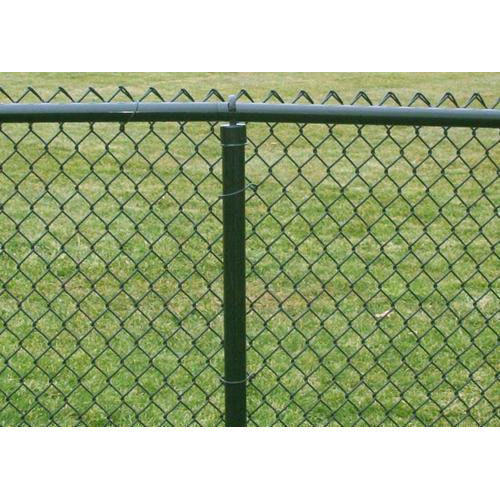 Fine Fence Galvanized Iron Chain Link Fencing Size 10g