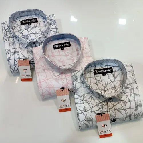 Full Printed Shirts, Size: m l xl xxl