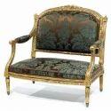 Antique Wooden Sofa Chair