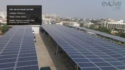 Solar Roof Top Car Parking System