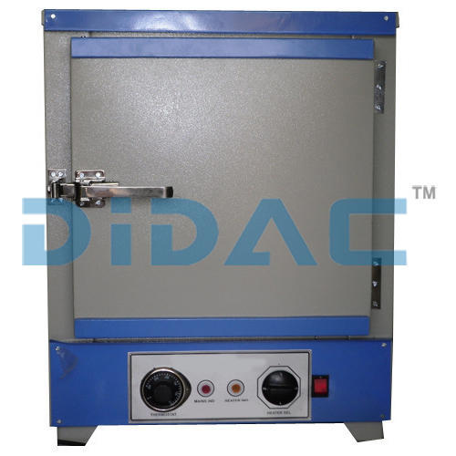 DIDAC Gray and blue Hot Air Oven