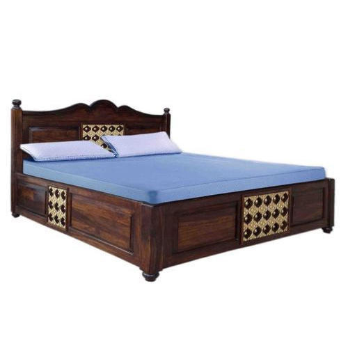 Shree Traders Wooden Furniture Box Bed