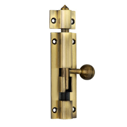 Chitra Brass Fancy Tower Bolt, Size: 12x200mm