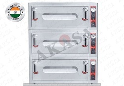Akasa Indian Electric Three Deck Oven