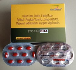 Calcium, DHA & Iron Combination Single Pill