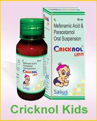 Cricknol Kids Suspension (Mefenamic Acid And Paracetamol)
