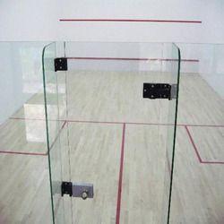 Squash Court Hard Plaster System Flooring