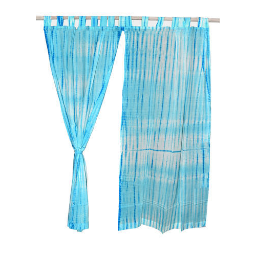 Lucky Handicraft Printed Drapes Tie Dye Curtains Size 110 X 220 Cm