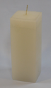 White Plain Pillar Candles
