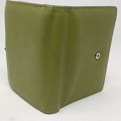 Green Leather Ladies Wallet