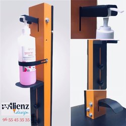 Foot pedal hand sanitizer dispenser