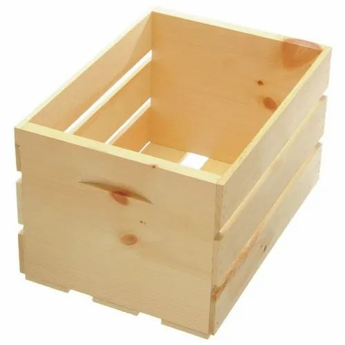 Rectangular Closed Crates Wooden Crate Box, For Packaging