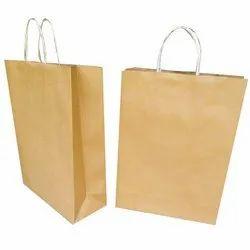 Plain Craft Paper Carry Bag