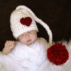 Babymoon Long Tail Ball Hat Crochet Best Cap/Costume/Photography Props/Photoshoot/Baby shower Gift