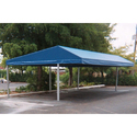Industrial Pyramid Car Awnings, Dimension: 50 Sq Ft