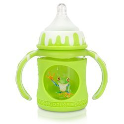 Green And White Baby Water Bottles