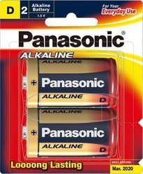 D Type Alkaline Battery