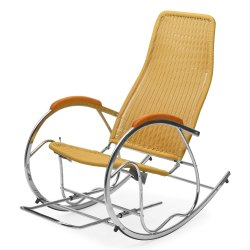 Nilkamal Modern Wegner Rocking Chair, For Home, Back Style: High Back