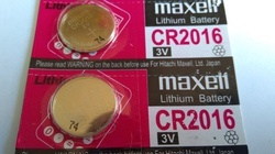 CR 2016 Coin Battery