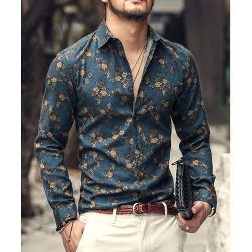 great deals 2017 complete in specifications Official Website Men''s Floral Print Shirt