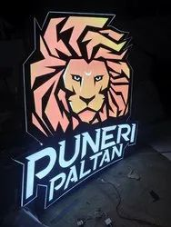 Led Commercial Name Plate
