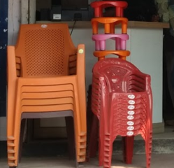 Low Back Plastic Chairs