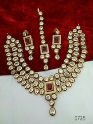 Kundan Wedding Choker Set
