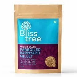 Bliss Tree Parboiled Barnyard Millet, Packaging Size: 500gm