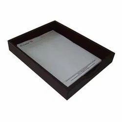 RS Leathers Leather Paper Tray