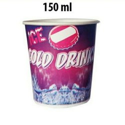 Packet Size: 70 Pieces Multicolor 150 ML Paper Cup