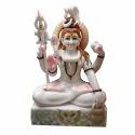 Marble Shiva Sitting Statue