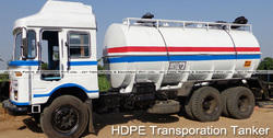 HDPE Transportation Tanker