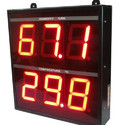 Temperature And Humidity Indicator LED Display
