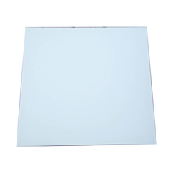 White Fully Frosted Glass