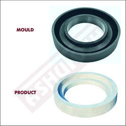 Round Manhole Cover Frame Moulds-18 (DIA - 450 X 40 MM)